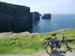 Cycling along the Cliffs